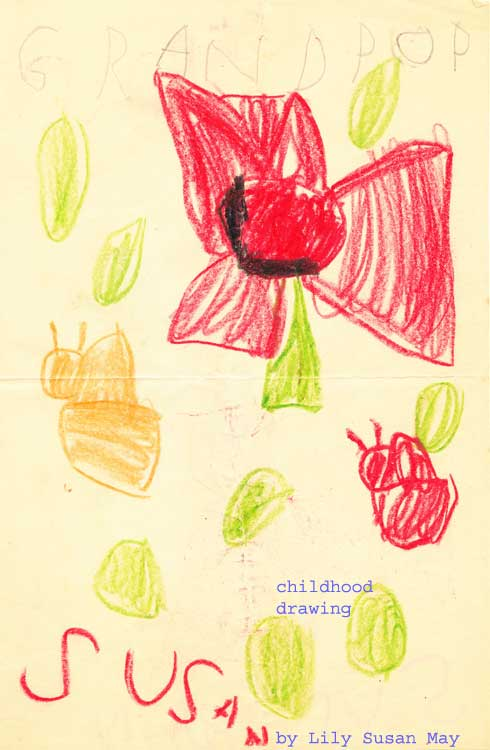 Childhood Crayon Drawing