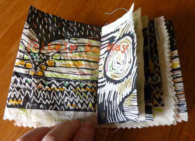 Mail art booklet