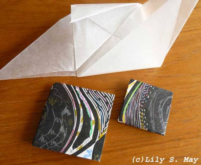 Origami Mail Art