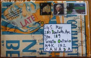 Mail Art Envelope