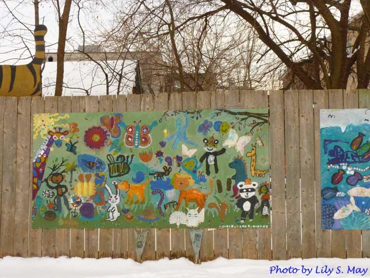 Children s mural arts of may for Children s mural