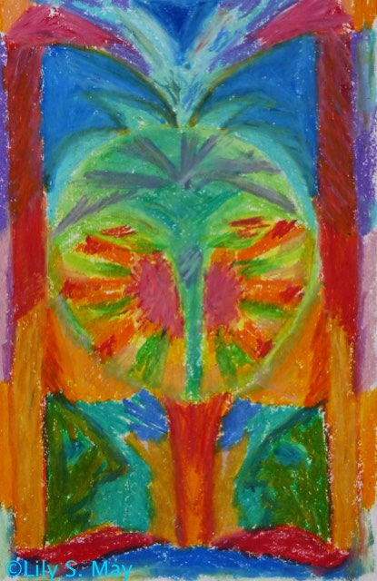 Oil Pastel ©2009, Lily S. May