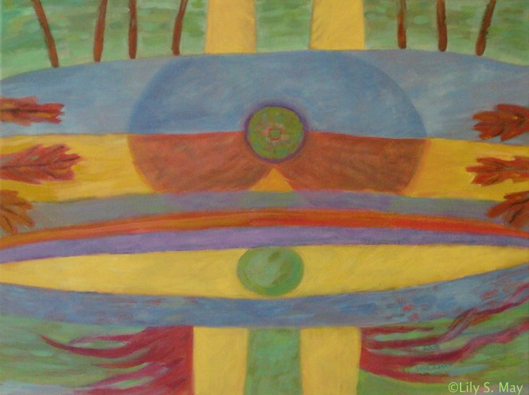 Oil Painting by Lily S. May, ©2008